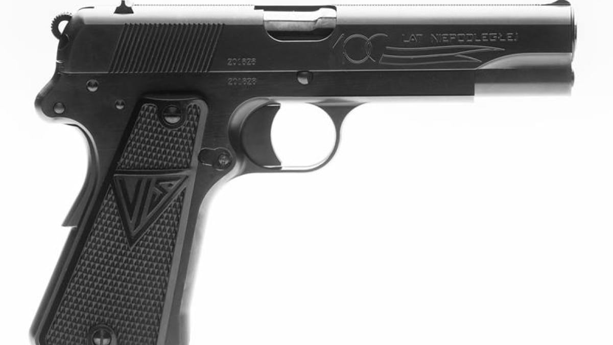 FB Radom is making a special edition of the classic VIS 35 Eagle pistol (PHOTOS)