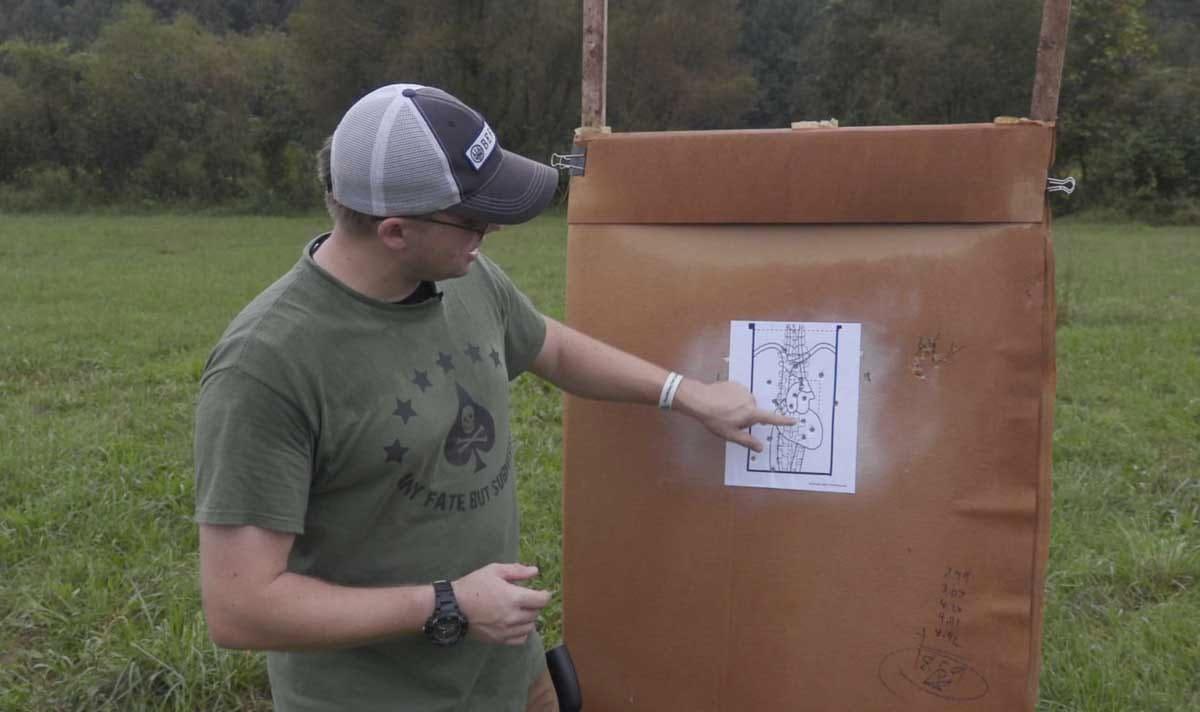 Defensive shooting drills: Handgun Combatives 5 in 5 (VIDEO)