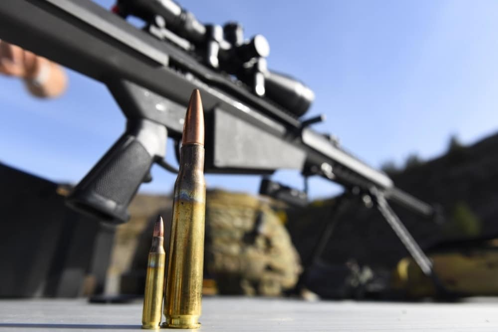 Barrett picks up $8 million Army  50-cal contract (PHOTOS)