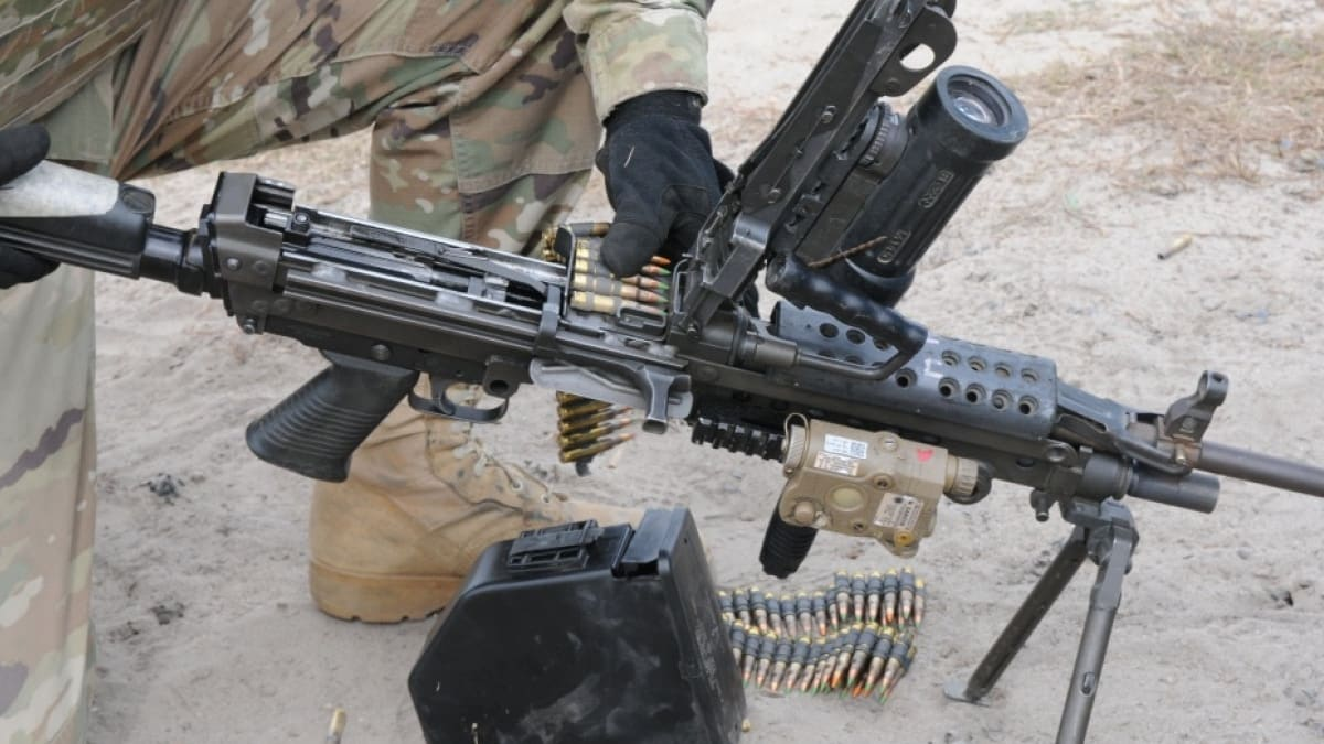 Army moving forward with new 6.8mm round, replace M4, M249