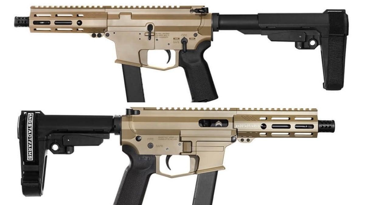 Angstadt announces UDP-9 pistol Magpul FDE variant (PHOTOS)