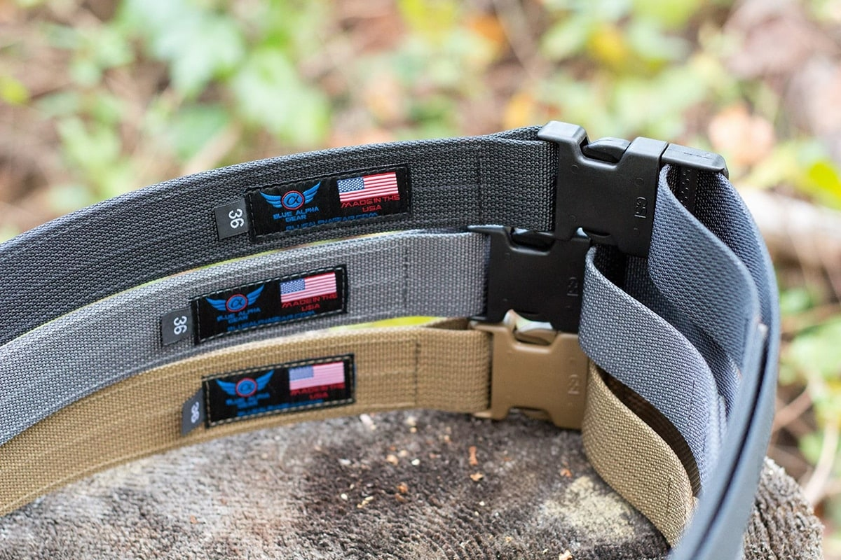 6fa07351d1855 Blue Alpha Gear brings EDC, range belts to the masses - Guns.com