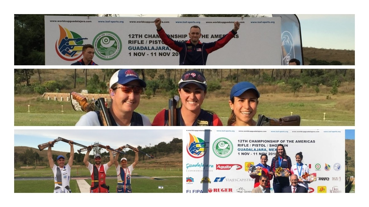 USA Shooting Team racks up medals as Championship of the Americas games (PHOTOS)