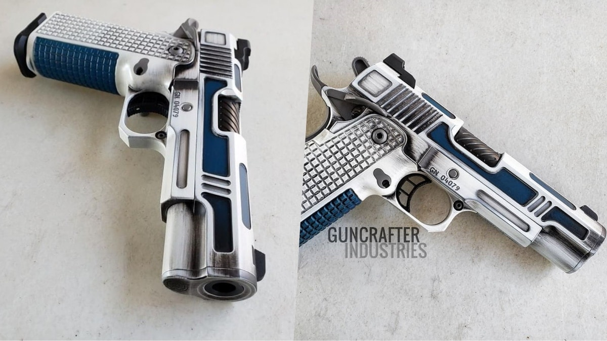 Chris Costa's custom 1911 looks like a recycled droid (PHOTOS)