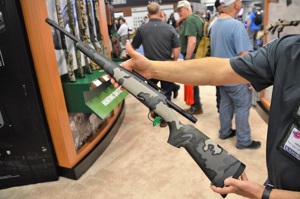 Remington launches threaded Model Seven in KUIU Vias camo