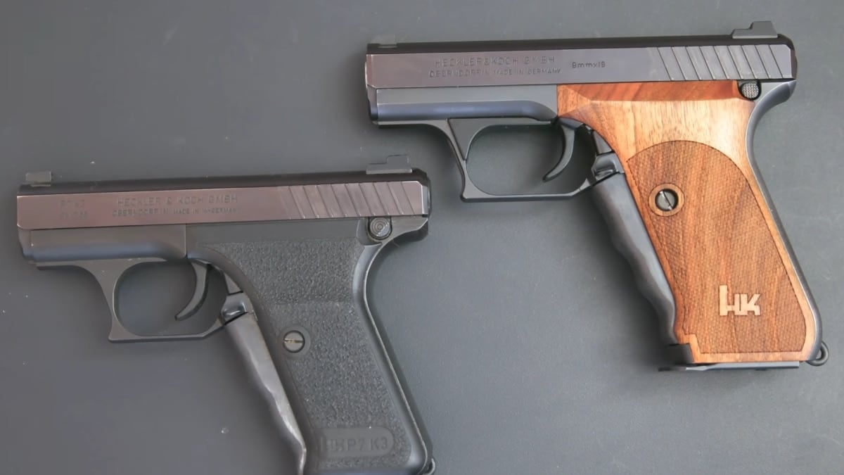 HK P7: The 'most expensive pistol in the world' (VIDEOS)