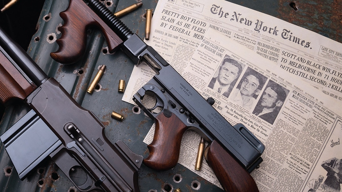 The Tommy gun that may have gotten Pretty Boy Floyd can be yours (VIDEO)