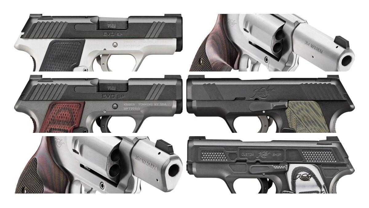 Kimber announces new striker-fired pistol, DA/SA revolvers (PHOTOS)