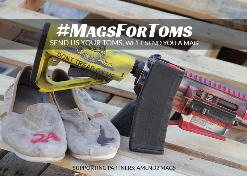 toms shoe giveaway gun maker launches magazine giveaway to get toms sneakers 2863