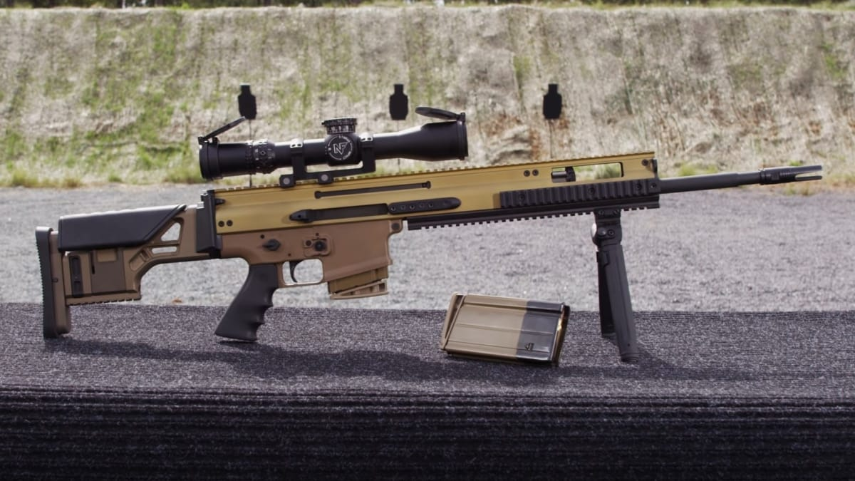 More on the new FN SCAR 20S rifle (VIDEO)