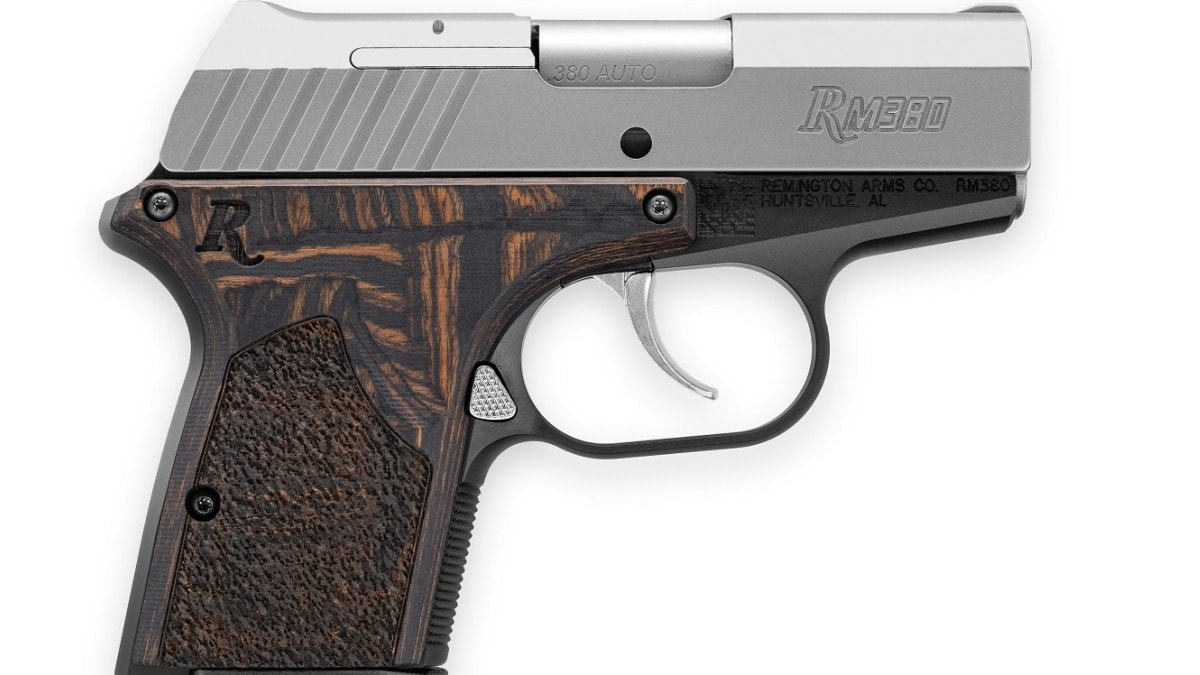 Remington unveils all-metal RM380 Executive model micro pistol