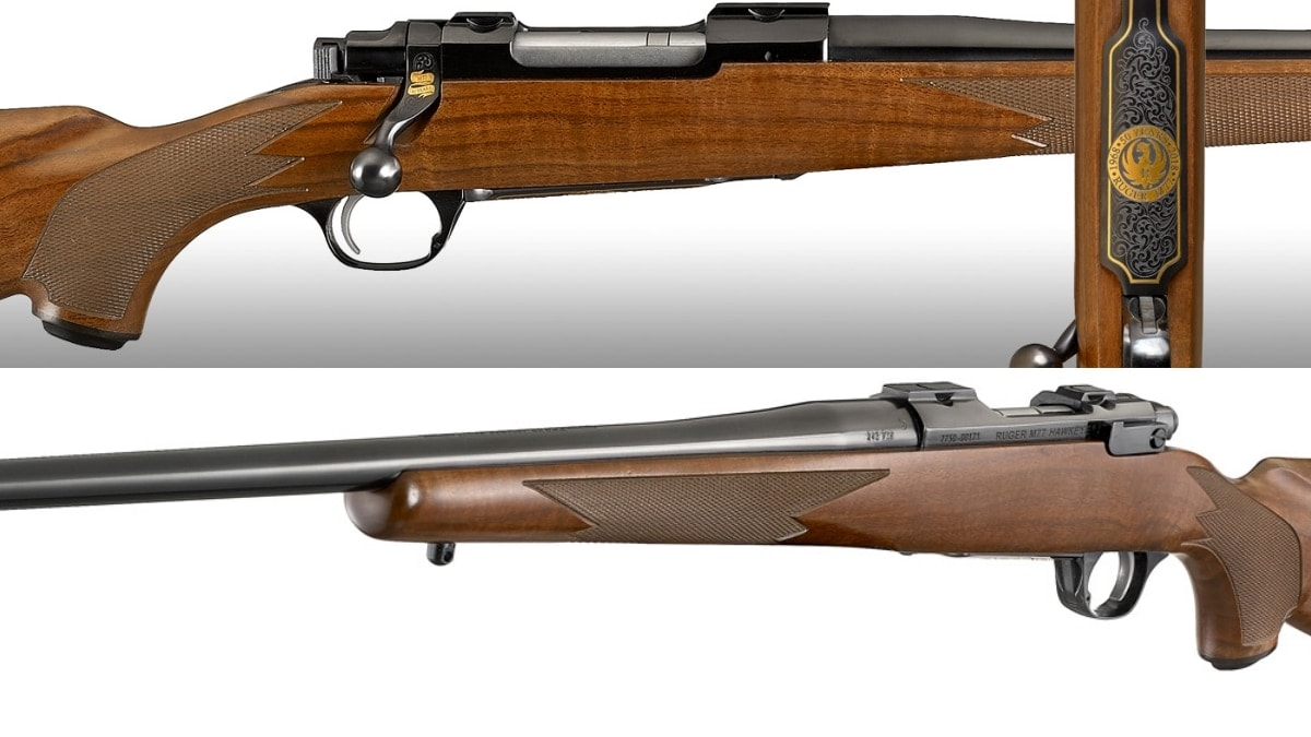 Ruger unveils new 50th Anniversary limited edition M77 Hawkeye (PHOTOS)