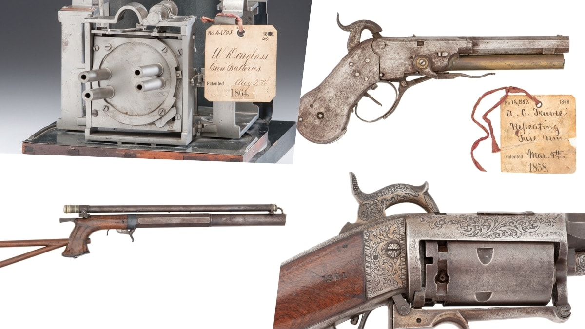 The strange and wonderful gun collection of Mark Aziz is up for grabs (PHOTO)