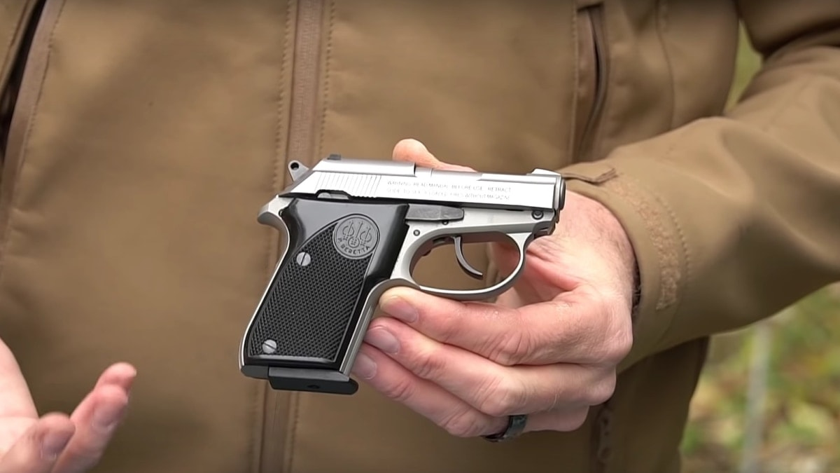 Tomcat: Beretta's  32 ACP pocket pistol (VIDEO) - Guns com