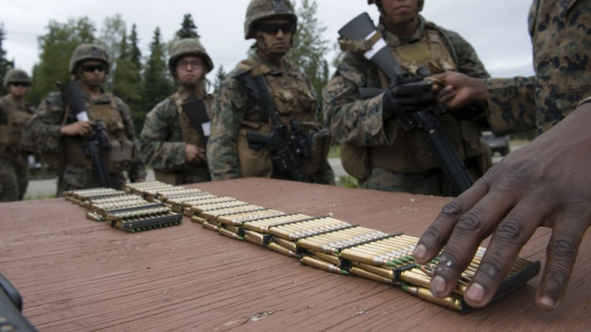 Federal lands $41 million Pentagon contract for 5.56mm barrier ammo