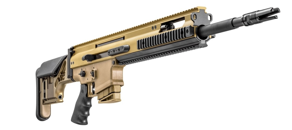FN delivers new SCAR 20S precision rifle to commercial