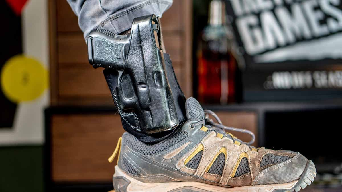 Ankle carry: A comfortable back-up when IWB just isn't an option (VIDEO)
