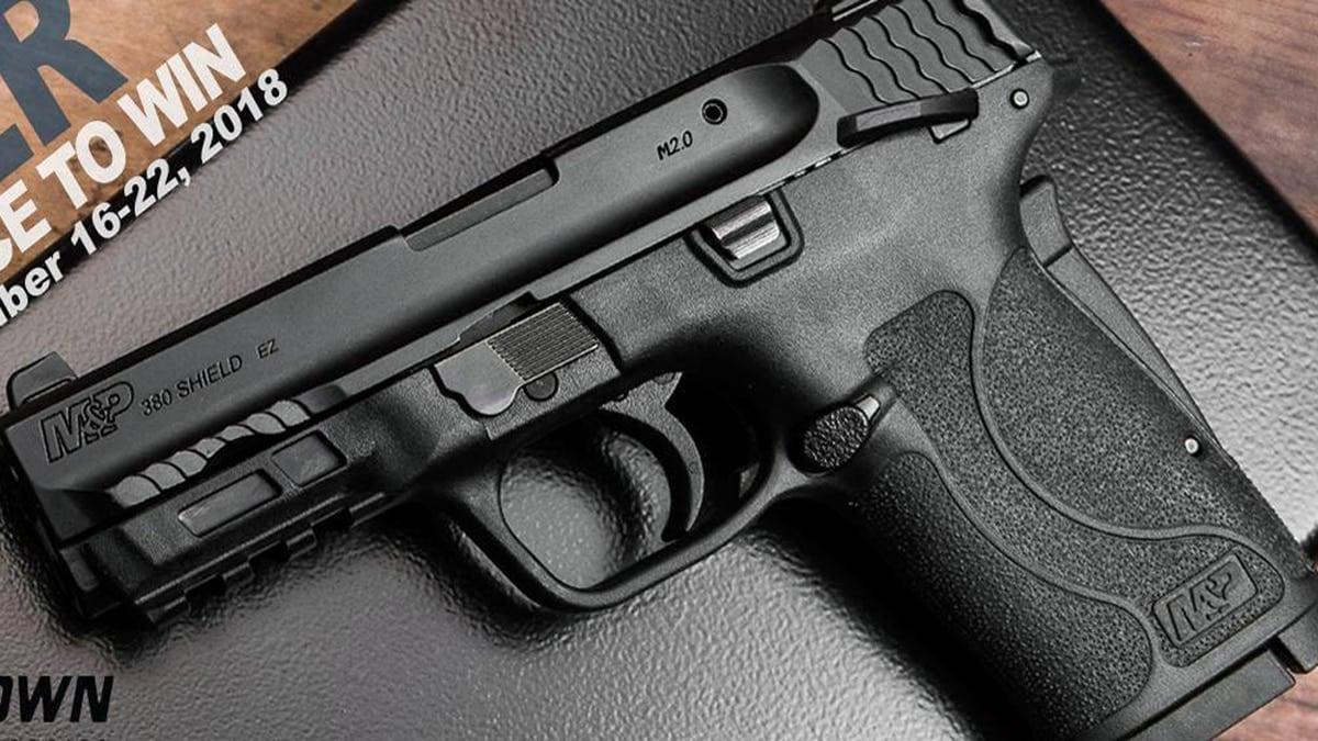 Smith & Wesson: M&P Shield 380 EZ pistol boosting sales