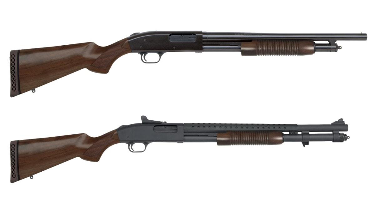 Mossberg introduces new Retrograde 500, 590 shotguns