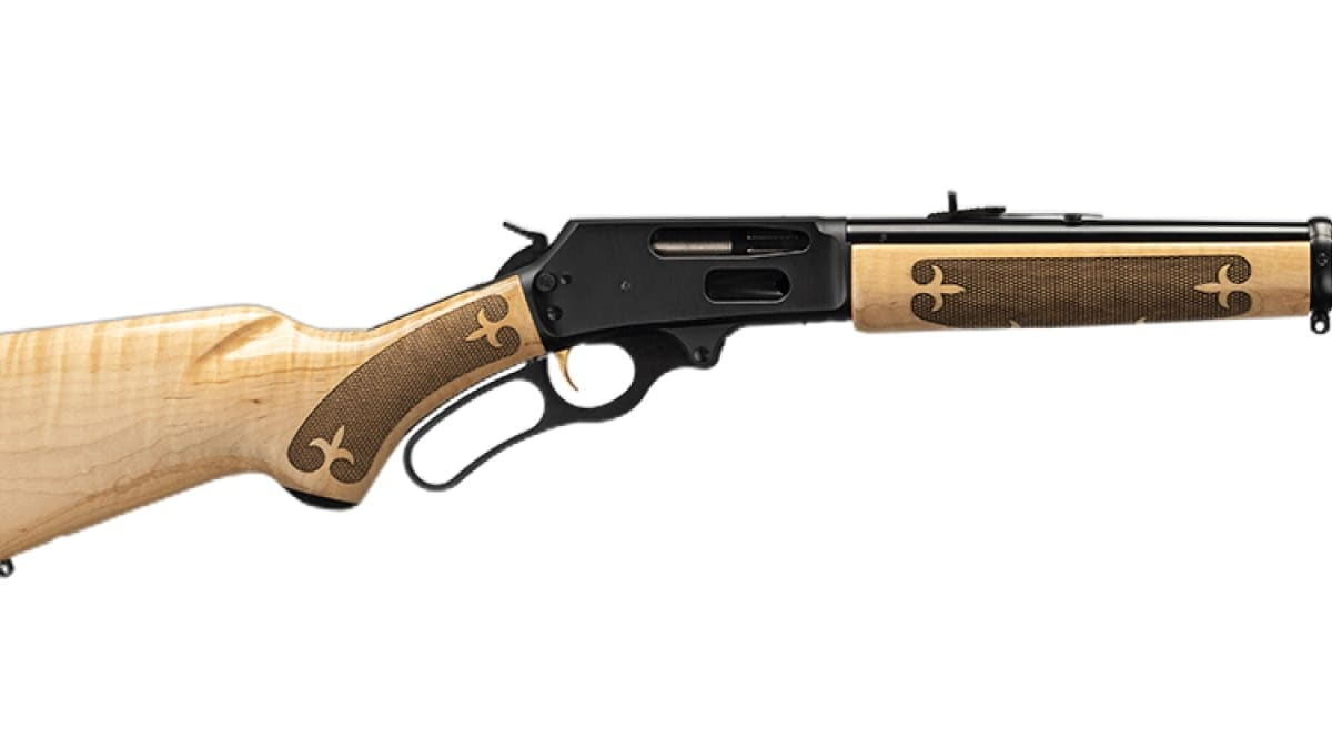 Marlin adds curly maple furniture option to Model 336 lever gun line