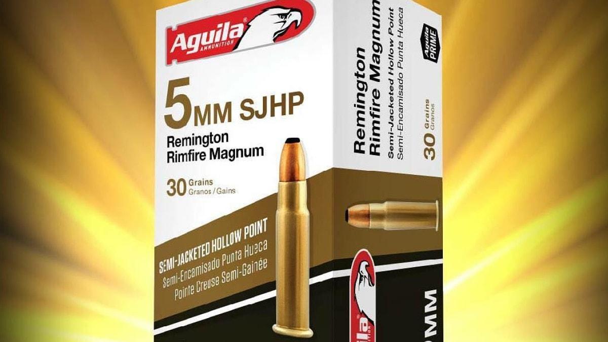 Aguila introduces new 5mm Remington Rimfire Magnum load