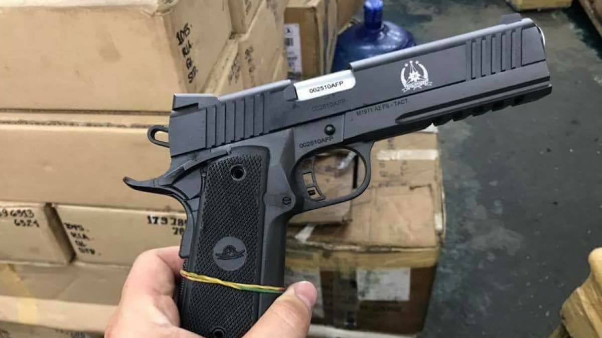 Armscor lands contract to supply 50,000 .45 ACP pistols to Philippine military (PHOTOS)