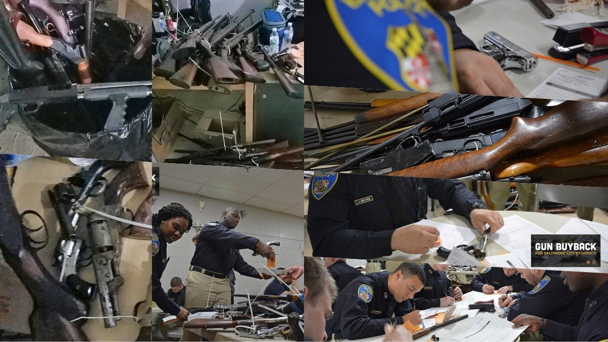 Baltimore gun 'buyback' campaign rakes in the junk (PHOTOS)