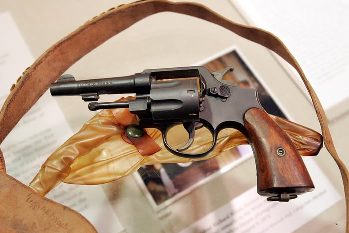 george bush revolver