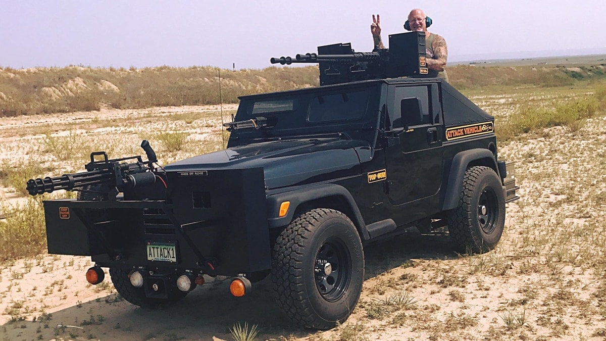 What it takes to load Dragonman's machine gun ride (VIDEO)