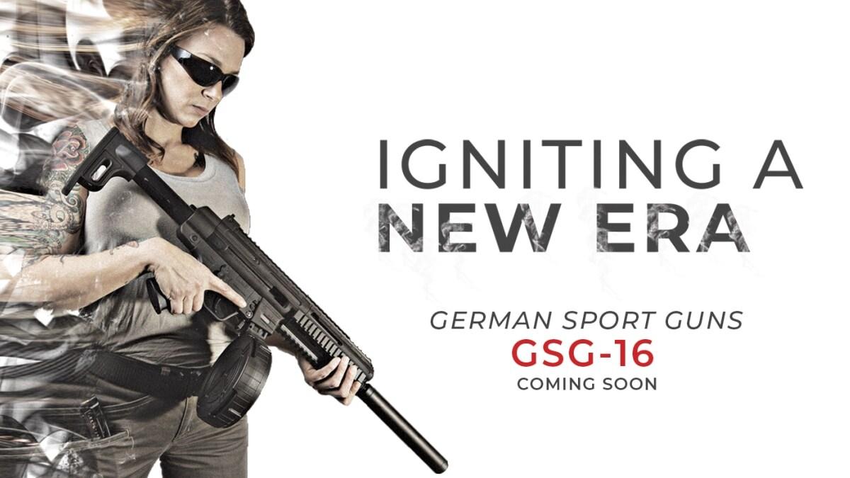 ATI teases new GSG-16 .22LR rifle (VIDEO)