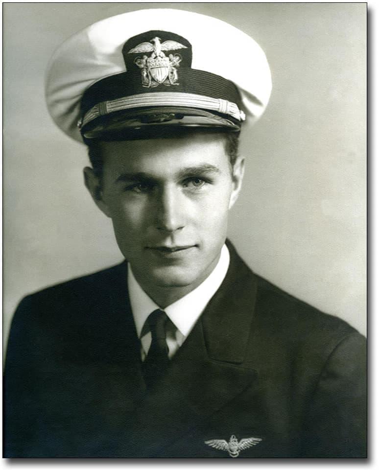 george bush navy