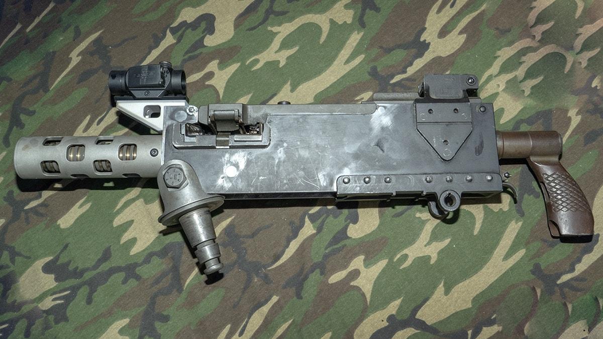 Windsor Arm's Super Shorty M1919 Browning machine gun