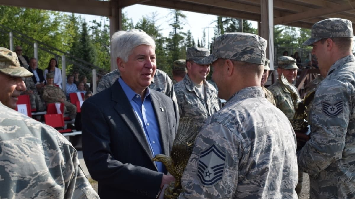 Michigan bill allowing concealed carry for National Guard heads to governor