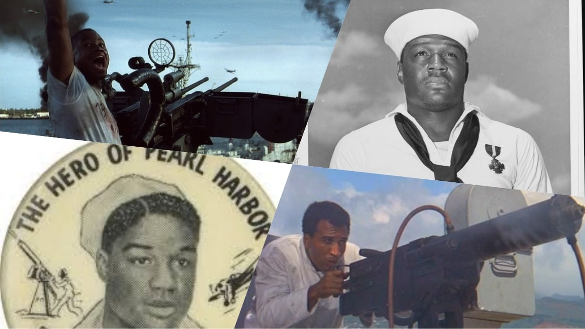 Pearl Harbor: The cook who took up a machine gun and put it to good use (PHOTOS)