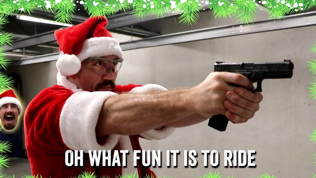Jingle Bells, ballistically speaking (VIDEO)