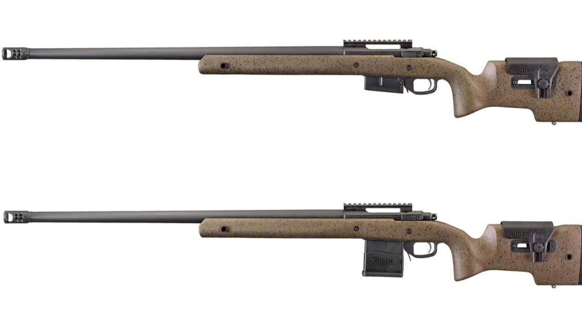Ruger adds new M77 Hawkeye Long-Range Target models in 6.5 Creedmoor, 6.5 PRC (PHOTOS)