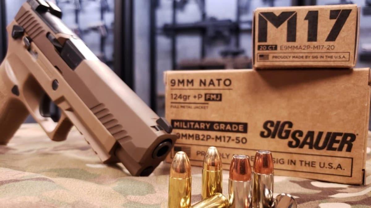 Sig Sauer announces new M17 line of 9mm +P ammo (PHOTOS)