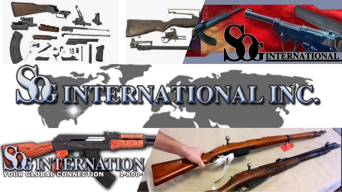 Milsurp firearms distributor SOG International shuts down