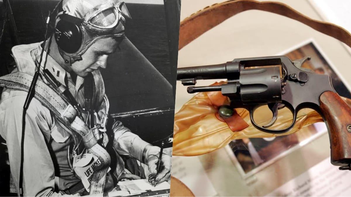 george hw bush revolver