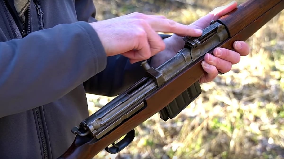The Gewehr 43: Germany's 8mm semi-auto stopgap (VIDEOS)