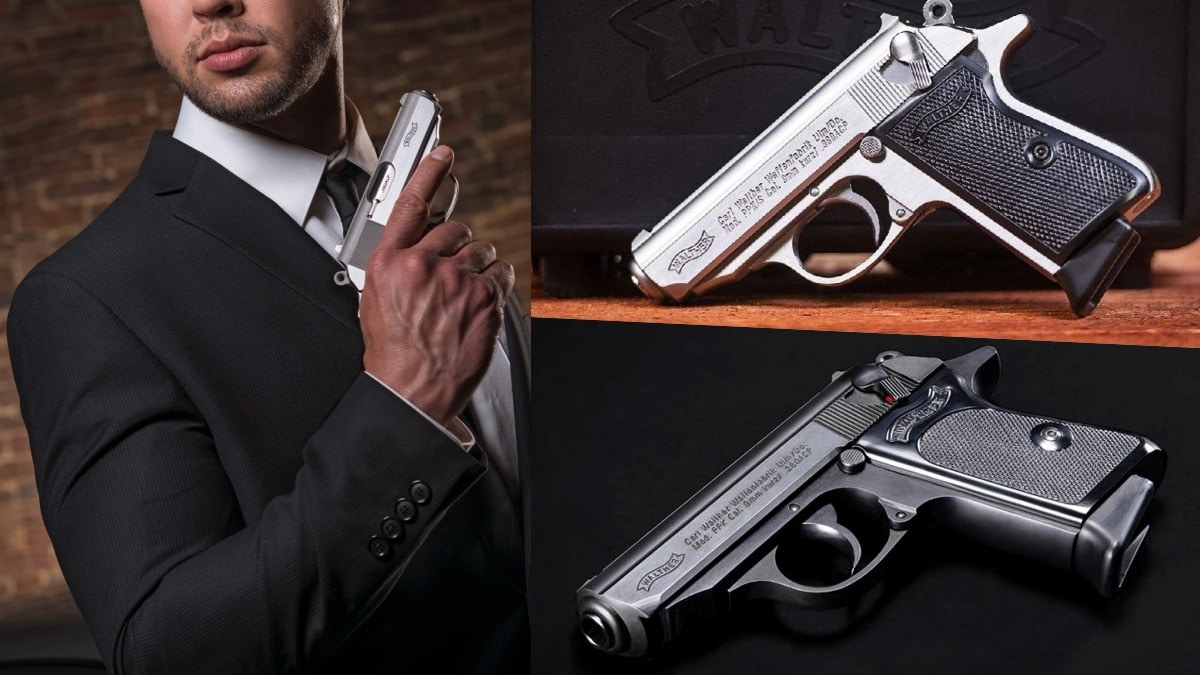 The iconic Walther PPK, PPKS, is now U.S.-made and ready to ship this month (PHOTOS)