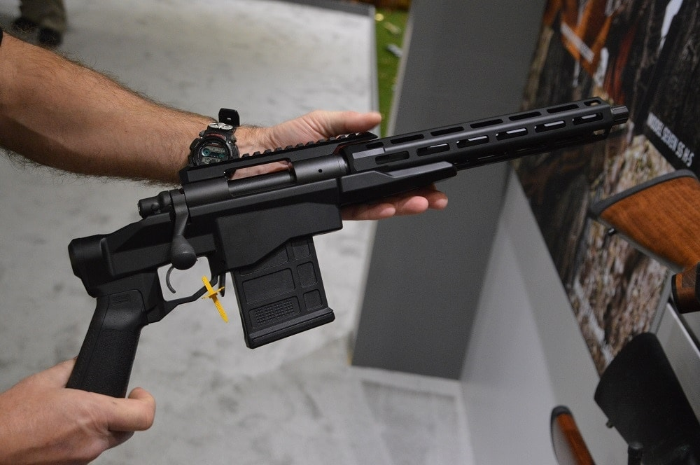 Remington shows off new Model 700 Chassis Pistol at SHOT (PHOTOS)