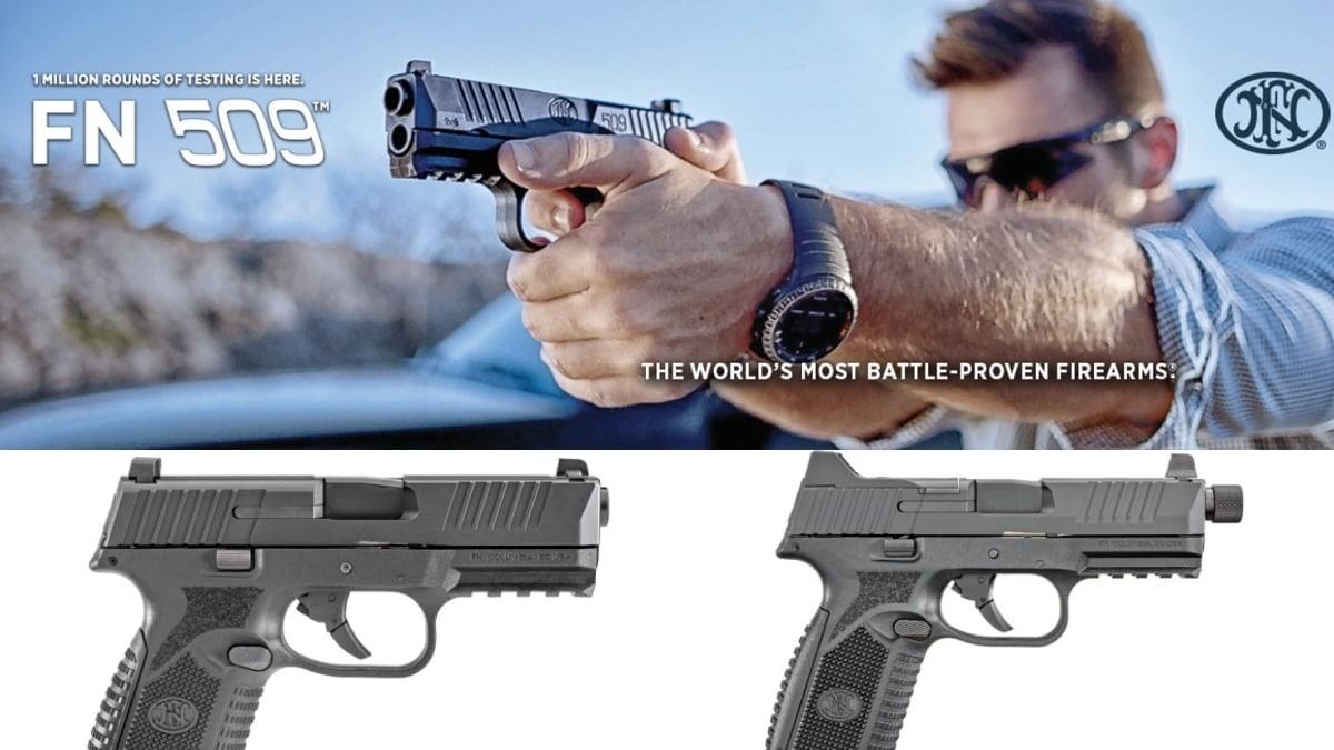 FN expands 509 line with Midsize, black models