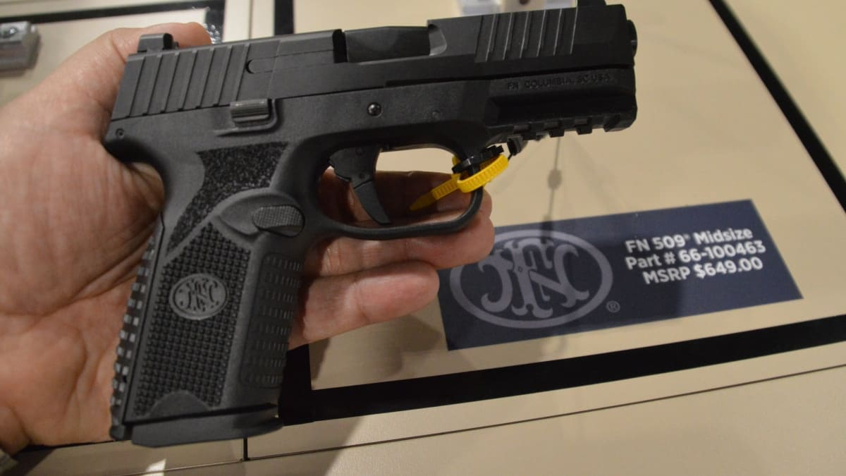 FN steps into G19 territory with the new Midsize 509 (VIDEO)