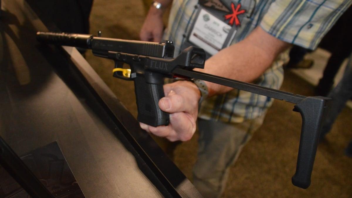 The new, holsterable Flux pistol brace for Glock (VIDEO)
