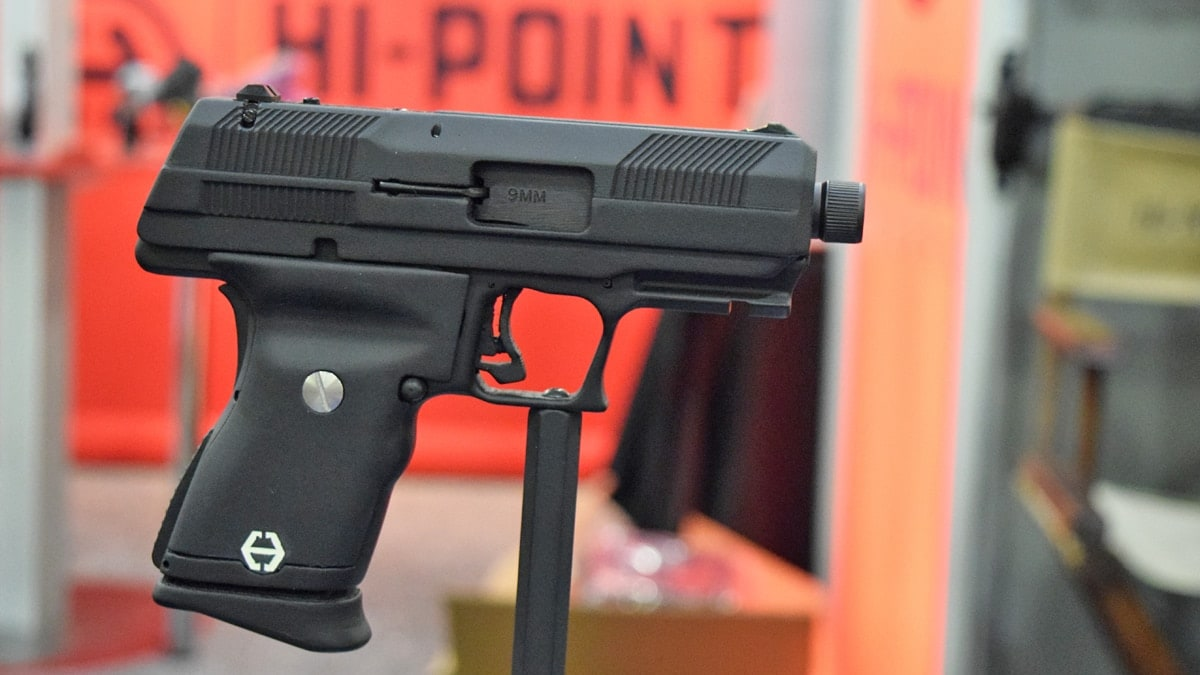Hi-Point, everybody's favorite affordable pistol, gets a facelift (VIDEO)