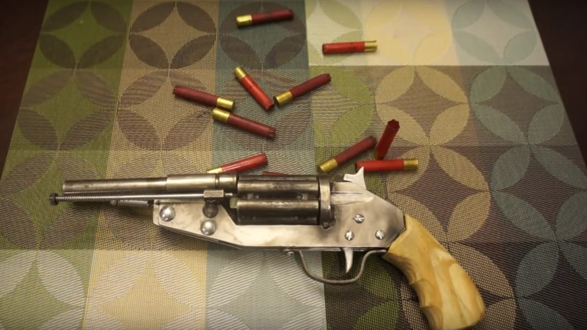 This homemade .410 revolver is ugly but gets the job done (VIDEOS)