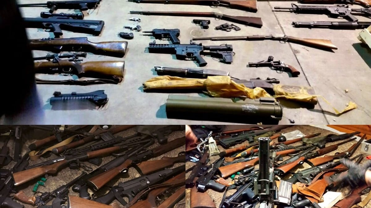 LAPD weapon bust has some interesting odds and ends (PHOTOS)