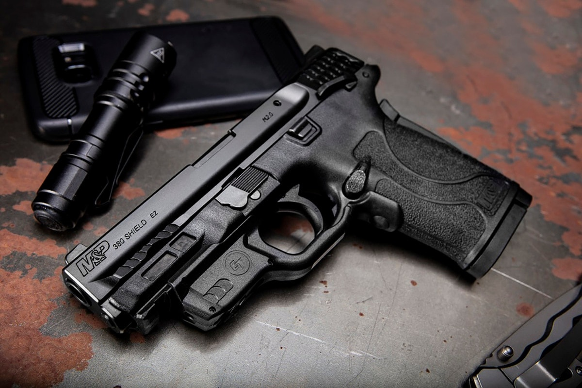 Smith & Wesson adds Crimson Trace laser, lights to popular