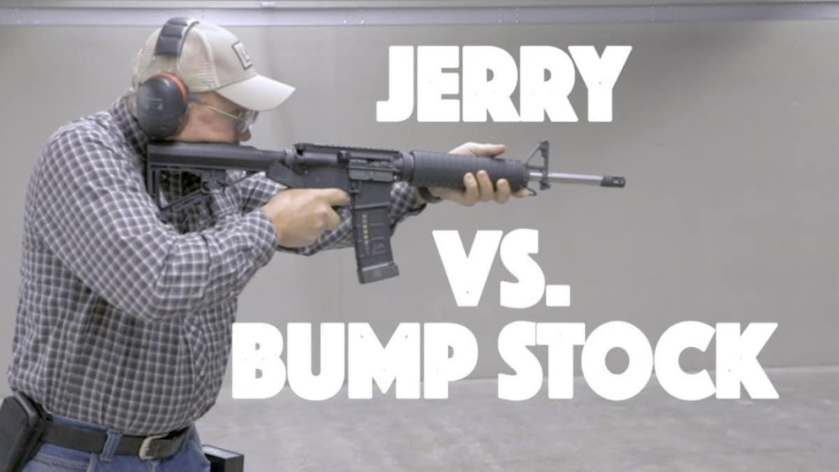 Jerry Miculek Vs. Bump Stock. No contest (VIDEOS)